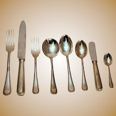 Feather Edge by Buccellati Sterling Flatware Set - 81 pieces