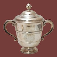 George V Silver Two-Handled Trophy, 20th Century