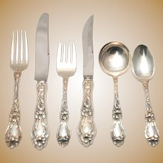 Lily by Frank Whiting Sterling Silver Flatware Set for 12