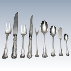 Tiffany & Co. Sterling Silver Provence Flatware Set for 12