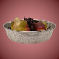 Silver Plate Centerpiece Bowl