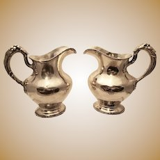 Gorham Sterling Pair of Water Pitchers