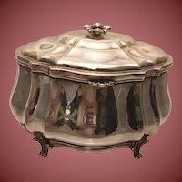 925 Sterling Silver Italian Judaica Esrog Box