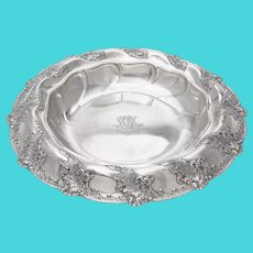 Tiffany & Co. Large Silver Center Bowl 1892-1902