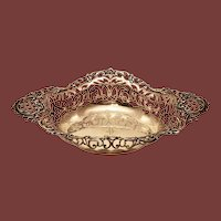 Mermod & Jaccard Pierced Sterling Silver Fruit Bowl