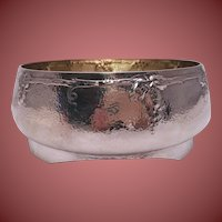 Arts & Crafts Hand-Hammered Silver Centerpiece/Bowl by Barbour Silver Co.