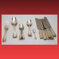 St. Dunstan by Tiffany & Co. 25-Pc. Flatware Set