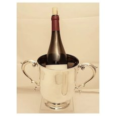 Tiffany & Co. Two-Handled Sterling Wine Cooler