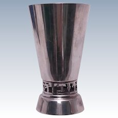 Esco Judaica Sterling Silver Kiddush Cup