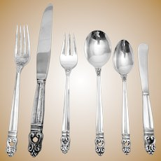 International Sterling Royal Danish Flatware Service