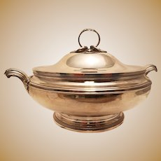 French Silver Tureen by Christofle and Cardeilhac