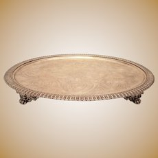 Silver Salver by S. T. Crosby Co.