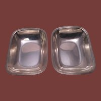 Pair of Tiffany & Co. Sterling Open Vegetable Bowls