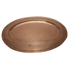 Tiffany & Co. Large Oval Serving Platter
