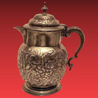 English Sterling Coffee Pot