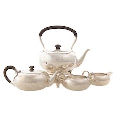Sterling Tea Service by McAuliffe & Handley 4pc