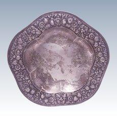 German Silver Centerpiece Repousse