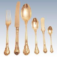 Gorham Chantilly sterling 48 piece flatware set, service for 8