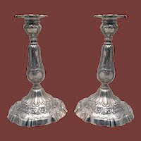 Pair of Sterling Candlesticks by Reed & Barton