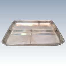 Tiffany & Co Sterling Condiments Tray With Four Compartments