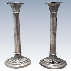Pair of Gorham Sterling Candlesticks