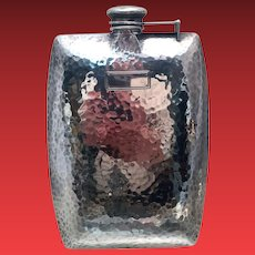 International Sterling Flask in Arts & Crafts
