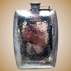 International Sterling Flask in Arts & Crafts