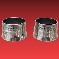 Pair of Whiting & Co Sterling Planters / Vases