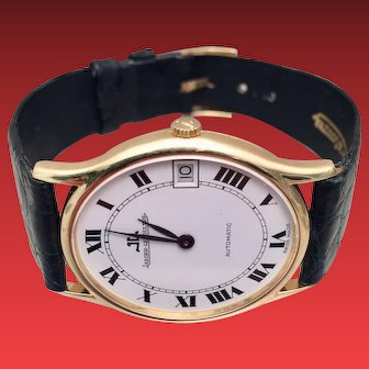 Jeager LeCoultre 18K Gold Wristwatch