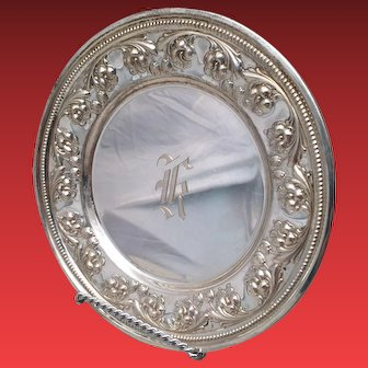 Whiting & Co Sterling Dessert Plate