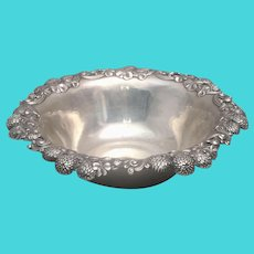 Tiffany & Co Sterling Silver Bowl in Clover Pattern