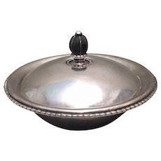 Georg Jensen Sterling Silver Covered Dish 290A