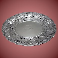 Shreve & Co Sterling Serving Platter in Adam Style