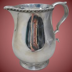 Tiffany & Co Sterling Pitcher in Gadrooned Acanthus Pattern