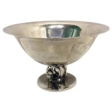 Sterling Hand Hammered Danish Candy Dish