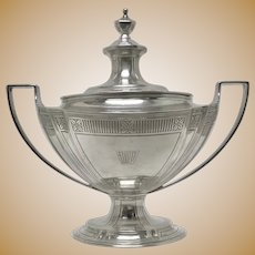 Tiffany & Co. Sterling Silver Covered Sauce Tureen