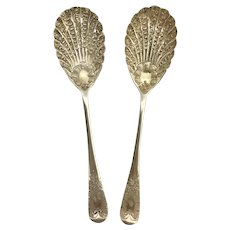 Pair of Berry Spoonsby Harry Atkins