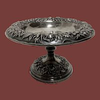 Kirk & Son Sterling Silver Bowl in Repousse Pattern