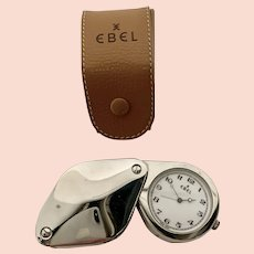 Ebel Loupe Pocket Watch Stainless Steel
