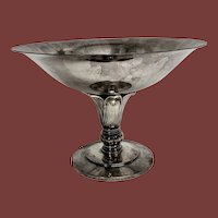 Sterling Danish Centerpiece On Stand by Hermann
