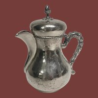 Mario Buccellati Sterling Silver Tea Pot in Bachelor Size