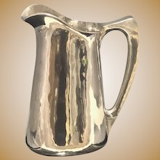 The TC Shop Hand Wrought Bar Pitcher Sterling Silver