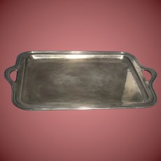 Tiffany & Co. 1909 Sterling Silver Butler's Tray 17144 4649