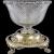 Paul Crespin Regency Crystal Silver-Gilt 1809 Centerpiece