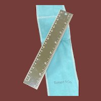 Sale! Tiffany & Co. Silver Metric Ruler