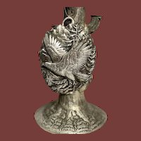 Buccellati Italian Sterling Wall Hanging Ornament / Pendant With Eagle Motif