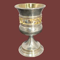 David Swed Sterling Silver Unusual Collectors Kiddush Cup