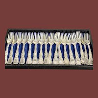 Tiffany & Co. Chrysanthemum Sterling Silver Forks & Knives