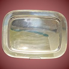 Tiffany & Co. Sterling Silver Art Deco Rectangle Bar Tray