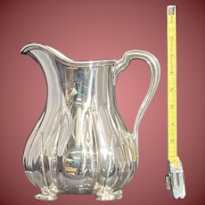 Tiffany & Co. Sterling Silver Pitcher Aesthetic Movement